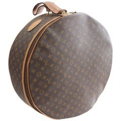 Louis Vuitton The French Company Boite Chapeaux Round Hat Box 50cm Travel Bag