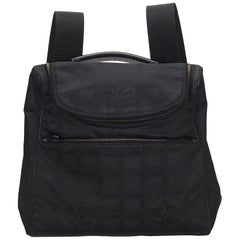 Chanel Black New Travel Line Convertible Backpack