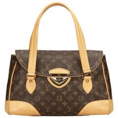 Louis Vuitton Brown Monogram Beverly GM