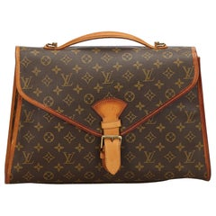 Louis Vuitton Brown Monogram Beverly Briefcase