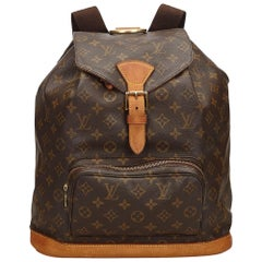 Louis Vuitton Brown Monogram Montsouris GM