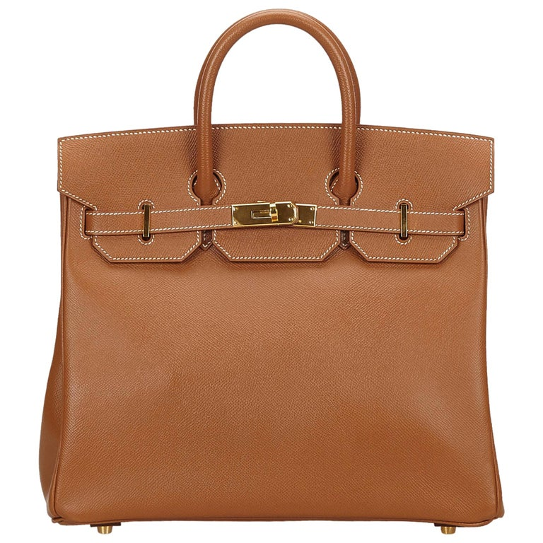 b665d831077 Hermes Gold Courchevel Birkin 35 Bag For Sale at 1stdibs