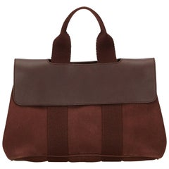 Hermes Brown x Dark Brown Valparaiso PM