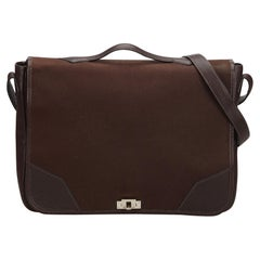 Hermes Brown Victoria Messenger Bag