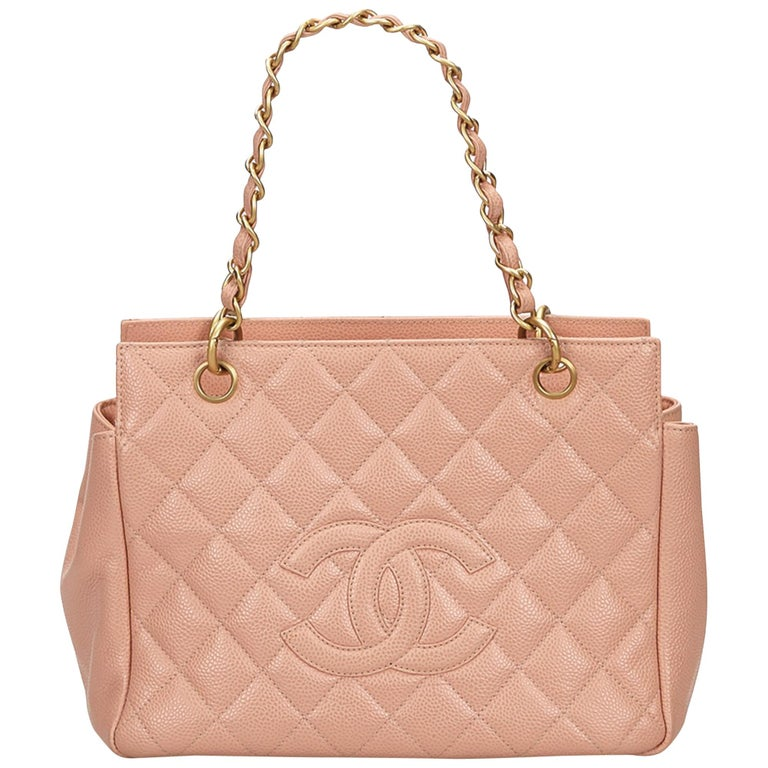 e0d37ad8ed9a Chanel Brown x Beige Caviar Petite Timeless Shopping Tote Bag For Sale