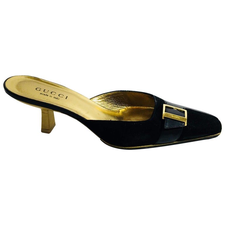 65360a20e96 Gucci Heeled Mule For Sale at 1stdibs