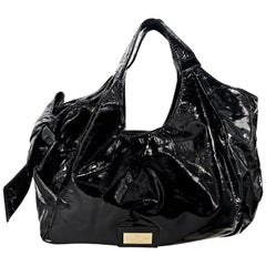 Valentino Black Nuage Bow Shoulder Bag