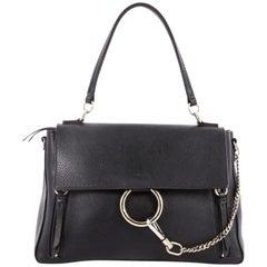Chloe Faye Day Handbag Leather with Suede Medium