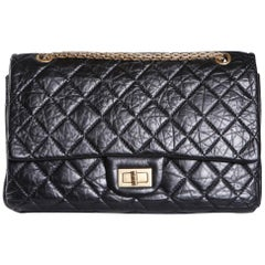 Chanel Quilted Leather Jumbo Flap Bag, 2011