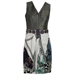 Multicolor Etro Printed Sheath Dress