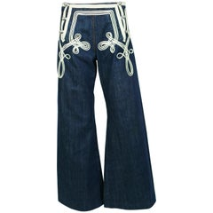 Jean Paul Gaultier Vintage Iconic Sailor Jeans US Size 8