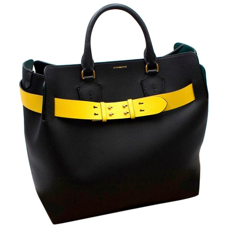 b57045ec01ed Burberry Large Leather Belt Bag For Sale at 1stdibs