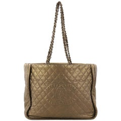 Chanel Istanbul Tote Quilted Leather Large