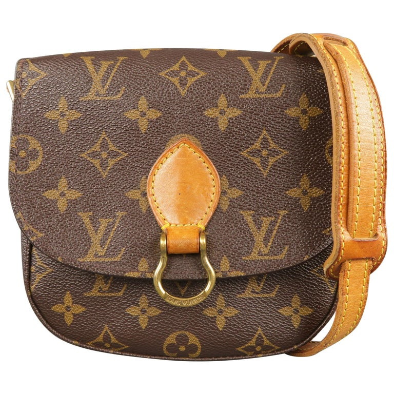 aff0a4daa828 LOUIS VUITTON Monogram Coated Canvas SAINT CLOUD PM Crossbody at 1stdibs