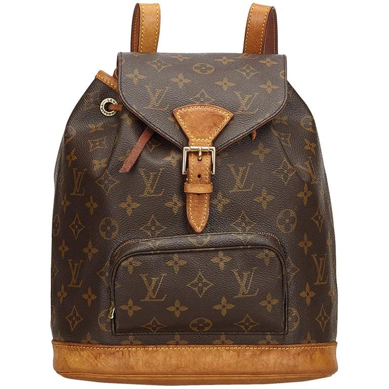 Louis Vuitton Brown Monogram Montsouris MM