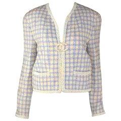 Chanel Lesange Tweed Jacket in Pastel Colors, 1994