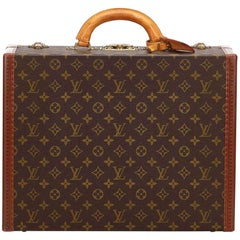 Louis Vuitton Brown Monogram Super President Trunk
