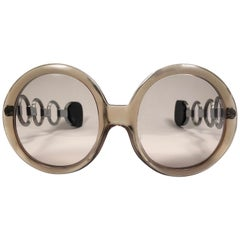 Serge Kirchhofer Vintage Rings Mod 461 Oversized Sunglasses Austria
