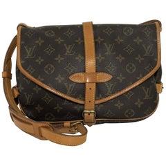 Louis Vuitton Monogram Saumur 30 Crossbody Handbag