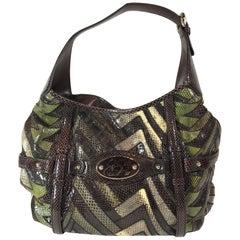 Gucci 85th Anniversary Python Hobo Bag