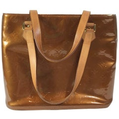 Louis Vuitton Brown Vernis Houston Tote
