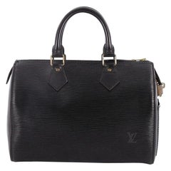 Louis Vuitton Speedy Handbag Epi Leather 25