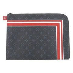 Louis Vuitton Pochette Jour Limited Edition Monogram Cobalt Canvas GM