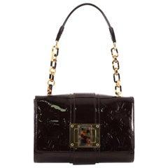 Louis Vuitton Vermont Avenue Handbag Monogram Vernis