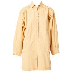 Yves Saint Laurent 70's Cotton Tunic