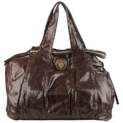 Gucci Brown Hysteria Large Tote Bag