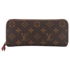 Louis Vuitton Clemence Wallet Monogram Canvas