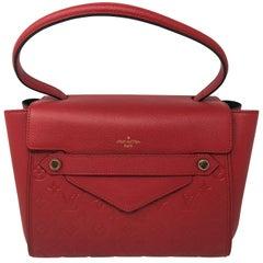 Red Louis Vuitton Eimpreinte Trocadero Bag