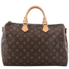 Louis Vuitton Speedy Bandouliere Bag Monogram Canvas 35