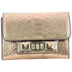 Proenza Schouler PS11 Wallet on Strap Python Embossed Leather