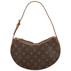 Louis Vuitton Brown Monogram Croissant PM