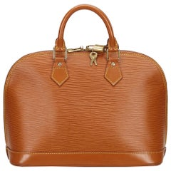 Louis Vuitton Brown Epi Alma PM