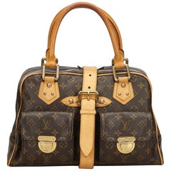 Louis Vuitton Brown Monogram Manhattan GM