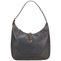 Hermes Black Leather Trim 31