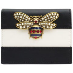 Gucci Queen Margaret leather card case, 2018