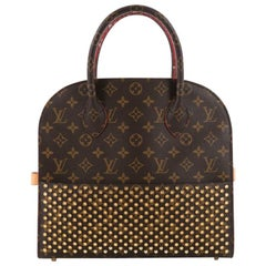 Louis Vuitton Limited Edition Christian Louboutin Shopping Bag Calf Hair