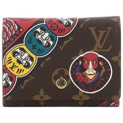 Louis Vuitton NM Compact Victorine Wallet Limited Edition Kabuki Monogram Canvas