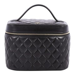 Chanel Vanity Case Quilted Lambskin Small