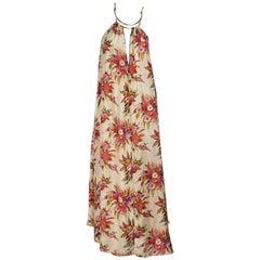 Multicolor Zimmermann Silk Floral Maxi Dress