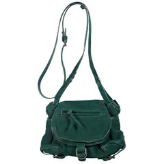 Jerome Dreyfuss Green Twee Mini Crossbody Bag