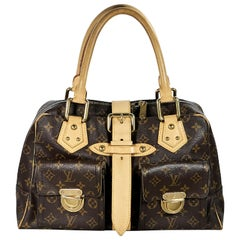 Louis Vuitton Brown Monogram Manhattan GM Bag