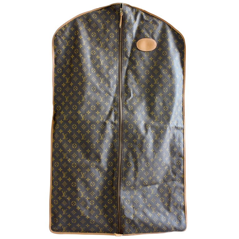 234d3b0f6d4a Vintage Louis Vuitton Garment Bag Monogram Canvas and Leather Travel Bag  Luggage at 1stdibs
