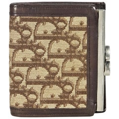 Christian Dior Small Brown Vintage Wallet