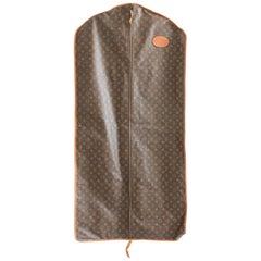 Louis Vuitton Vintage Long Garment Bag Monogram Canvas Travel Bag Luggage, 1970s