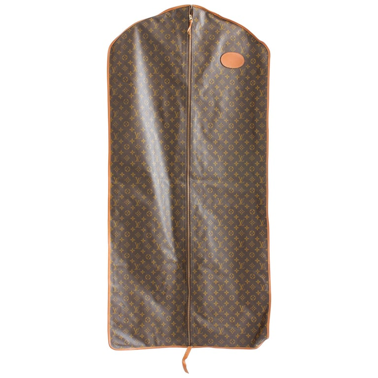 Louis Vuitton Vintage Long Garment Bag Monogram Canvas Travel Bag Luggage da71dadacabaa