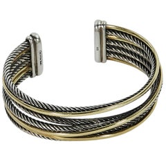David Yurman Crossover Cuff Bracelet